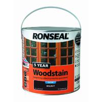 5 Year Woodstain 2.5L Walnut