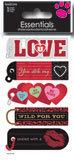 Happy Valentine's Day  Essential Craft Sticker.