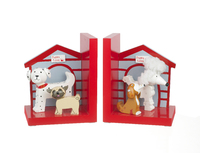 Bookends  Puppy Love. (Priced in singles, order in multiples of 2)