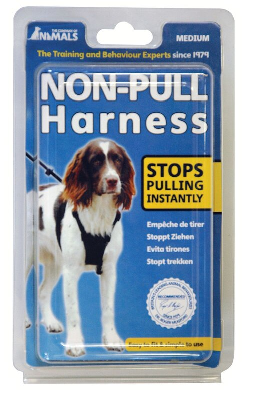 Company of Animals Non-Pull Harness Black - Medium