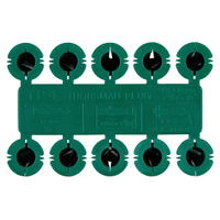 Plug Systems TP4 Rawlplugs Green