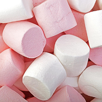 OVF0498 MINI MALLOWS PARTY PINK & WHITE 4x1KG