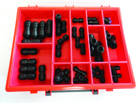 Assorted Box  of Plastic Pipe Fittings |  Metric 35pcs