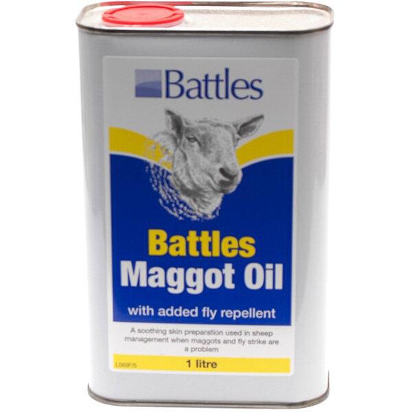 Battles Maggot Oil 1L