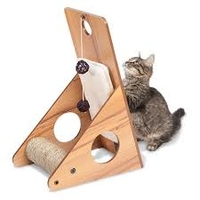 Hagen Vesper Cat Furniture V-Playstation - Walnut x 1