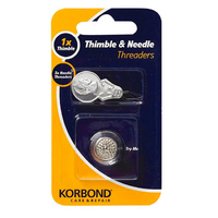 Korbond Combi Pack Needle Threaders & Thimble