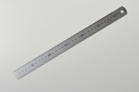 Stainless Steel Rules 300 x 1mm Graduations
