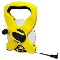 STANLEY OPEN FIBREGLASS MEASURING TAPE 30MTR (100FT)