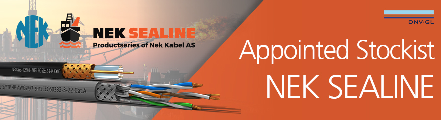 NEK Sealine - Marine Approved Data, Bus, Coax and Fibre Cables
