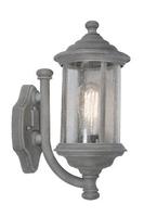 Brompton Wall Light with Lantern Old IP43, Iron | LV1802.0154
