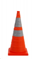 700mm Reflectorised Collapsible Road Cone