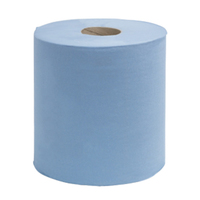 Bluemoon Centrepull Roll, Blue, 2 Ply, 150m