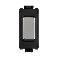 Schneider Ultimate Grid Blank Module Mirror Steel|LV0701.1206