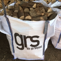 KILN DRIED FIREWOOD MIXED LOG BULK BAG FREE DELIVERY