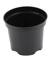 Aeroplas Container Pot Round 4lt - Black