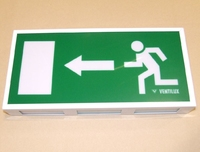 VENTILUX ARROW LEFT LED EXIT