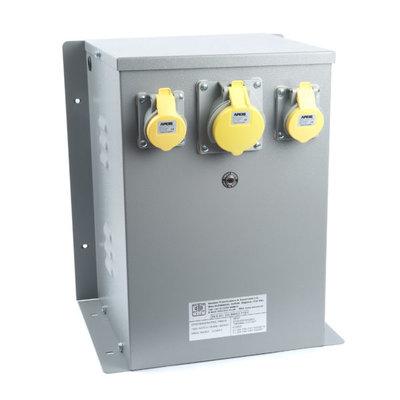 WS Enclosed 240/110V Input Protected Transformer 6kVA