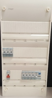 Hager 3 row Consumer Unit with 63A MCB