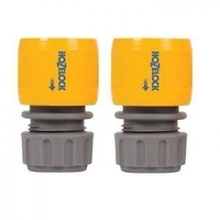 Hozelock Connector Standard Hose End, Twin Pack