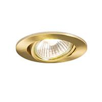Robus GU10 Directional Downlight Brass