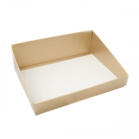 BOX TRAY GOLD HIGH BACK 500X375X160MM DISC