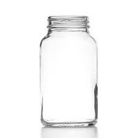 Powder Bottles Clear Glass No Cap 30ml Pk.80