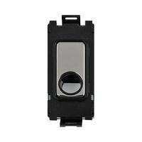 Schneider Ultimate Screwless Grid Mirror Steel Flex Outlet black|LV0701.1102