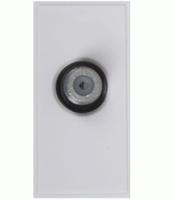 Triax Single TV F Insert - White (304254)