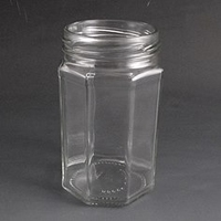 314ml Octagonal Jar