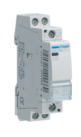 HAGER CONTACTOR 2 POLE 25A 2 N/O