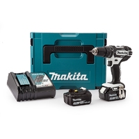 Makita Drill 18V Li-Ion DHP482RFWJ 18V With Free 19 Piece Drill Bit Set