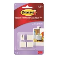 Command Party Mini Spring Clips 17804Q-ES