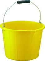 Bucket - 3 Gallon Yellow Heavy Duty