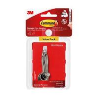 17006-18 Command Mini Hooks Value Pack 18pk