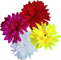 Artificial Flower Large Dahlia - Mixed Colours