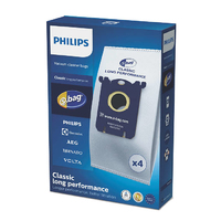 Philips S Bag Electrolux Zanussi AEG 4 Pack Genuine