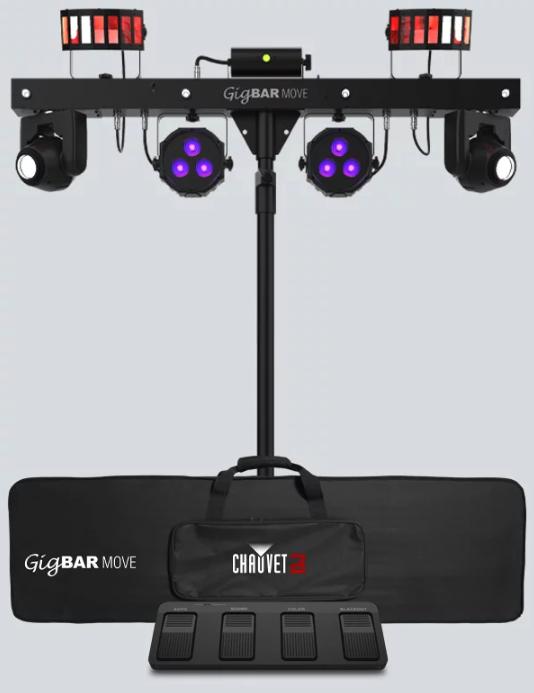 Chauvet DJ Gig Bar Move. 5-in-1 lighting system