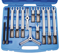 BGS Puller Set 2 Leg / 3 Leg 12 Piece  7760