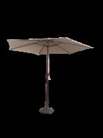 Parasol With Crank (Steel + Aluminium) Taupe 3M/6/38