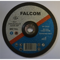 Falcomflex 9''/ 230x6.0mm METAL GRINDING DISCS