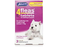 Johnson's 4-Fleas Small Dog & Puppy Flea Tablets 3 tab x 1
