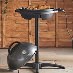 George Foreman Indoor/Outdoor Grill with background