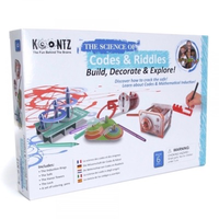 Codes and Riddles science kit - in packaging