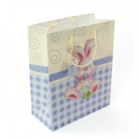 BAG POP UP BABY RABBIT LG GLOSS H32X26X12.5CM