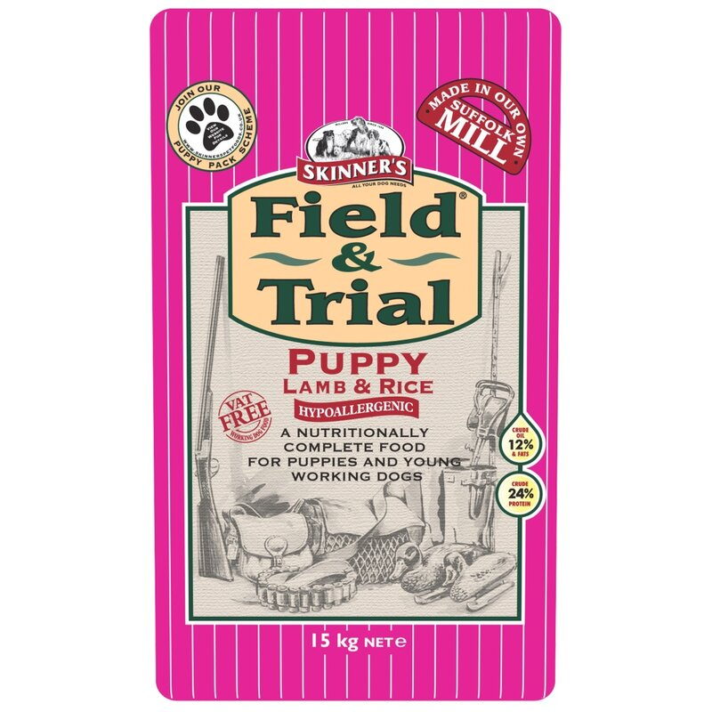 Skinners Field & Trial Puppy Lamb & Rice 15kg
