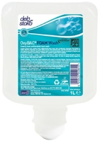 OxyBAC Antibacterial Foam Hand Wash Fragrance Free Catridge 1L