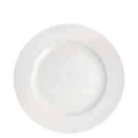 """Pure White Wide Rim Plate 9"""" (23cm)"""