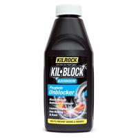 Kilblock Bathroom Plughole Unblocker 500ml