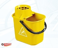 MASTERLUX BUCKET WITH SIEVE YELLOW 16ltr