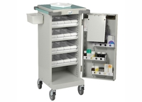 Bristol Maid Unit Dosage Trolley